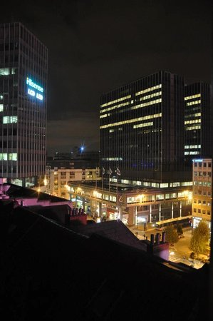 Hotel Metropole: view of the city from my room