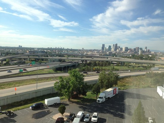 Quality Inn Central Denver: The view from my room in the ninth floor