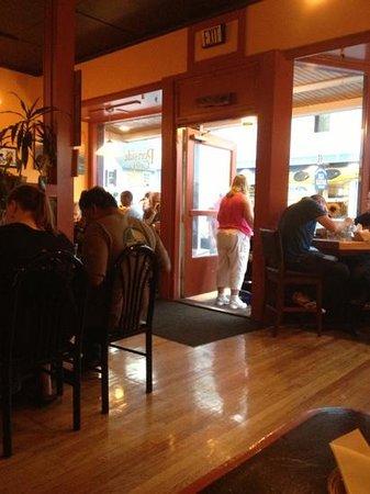 Portside Grill: front door