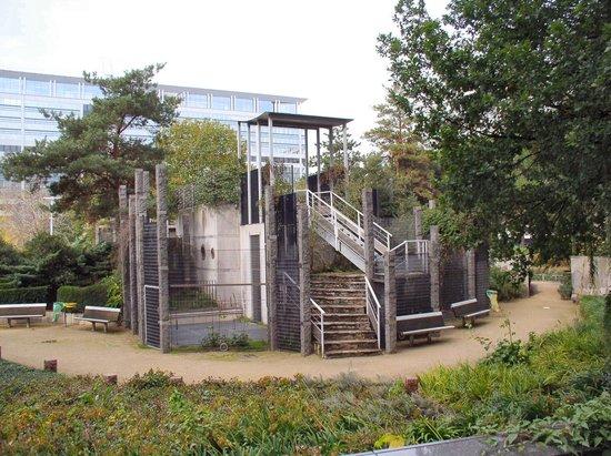 Tour montparnasse picture of jardin atlantique paris for Jardin atlantique