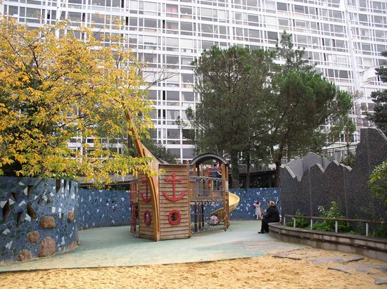 jardin atlantique paris ocean theme playground - Jardin Atlantique