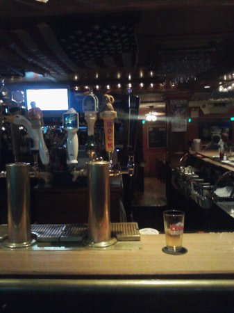 O'Hara's Restaurant and Pub : Scene from the back bar...