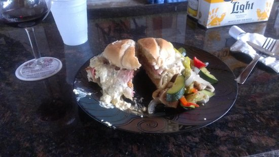 T-Bones Deli & Meat Market: Brandon's Cordon Bleu sandwich is Amazing!