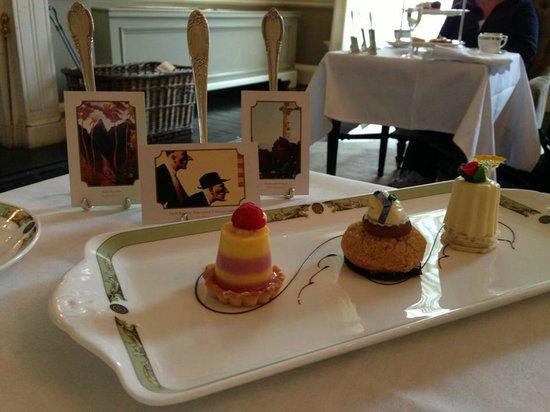 The Merrion Hotel: Trio of Art Desserts