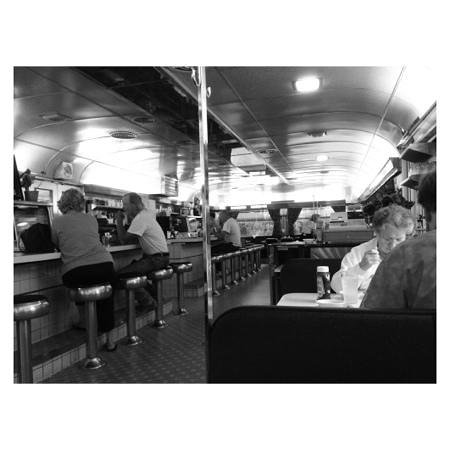 Martindale Chief Diner: interior view