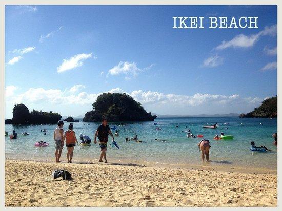 Ikei Beach: 伊計ビーチ 2013.08.29