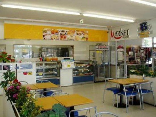 Oizumi-machi, Japan: スペースゆったりの休憩コーナー