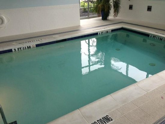 Hotel Indigo Raleigh Durham Airport at RTP: world's smallest hotel pool