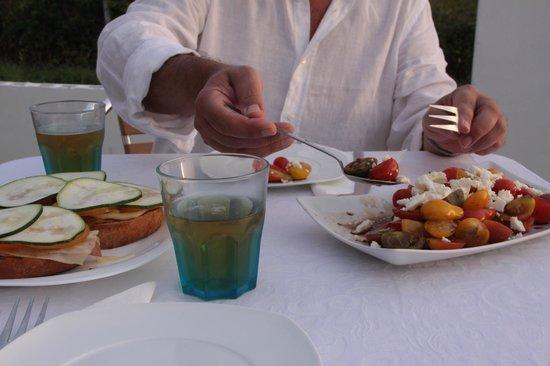 Hotel Mar da Ardora: degustación de productos ecológicos del huerto