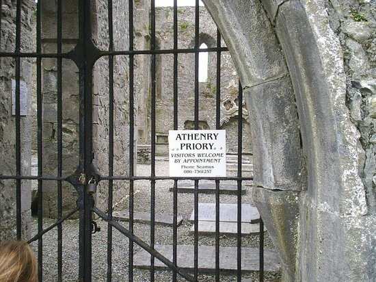 Athenry Castle: Priory contact