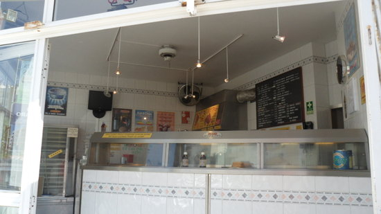 FAGINS FISH AND CHIP SHOP : all food cooked fresh to order