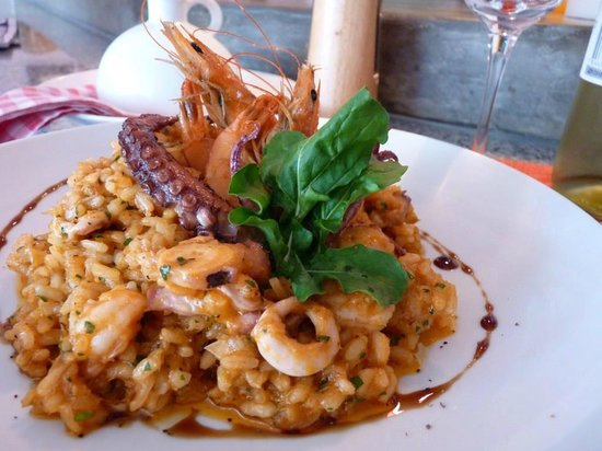 Cucina Simpatica : Risotto Misto Mare