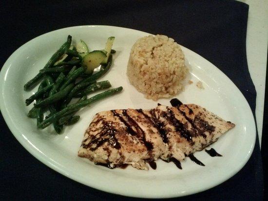 Brix Grill: Balsamic Salmon