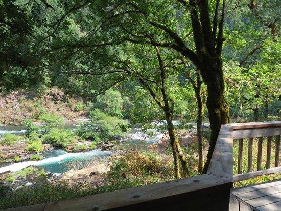 Steamboat Inn : Falls Suite Deck View