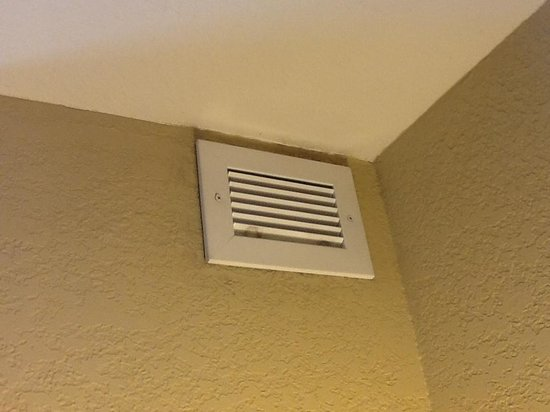 Hilton Garden Inn Atlanta Downtown: Mold in the Vent