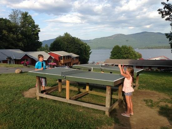 Flamingo Resort on Lake George: kids love it
