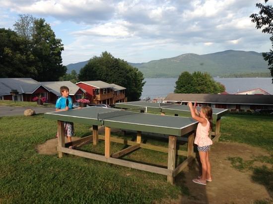 Flamingo Resort on Lake George : kids love it