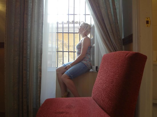 Hotel Dona Maria : The window view