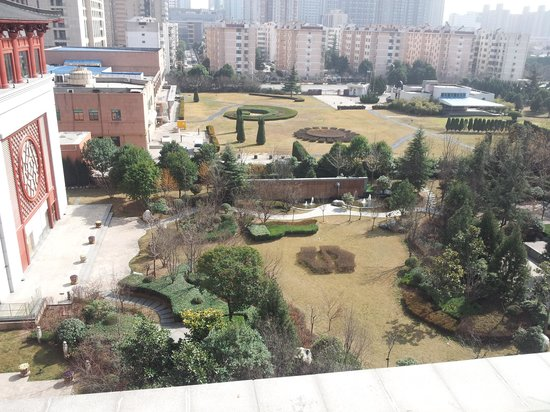 Shangri-La Hotel,Xian: giardino