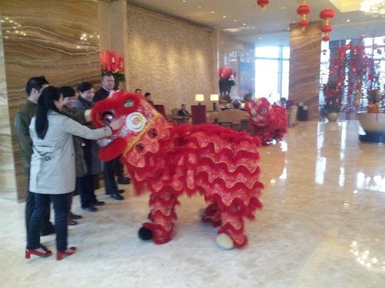 Shangri-La Hotel,Xian: festa per capodanno Cinese