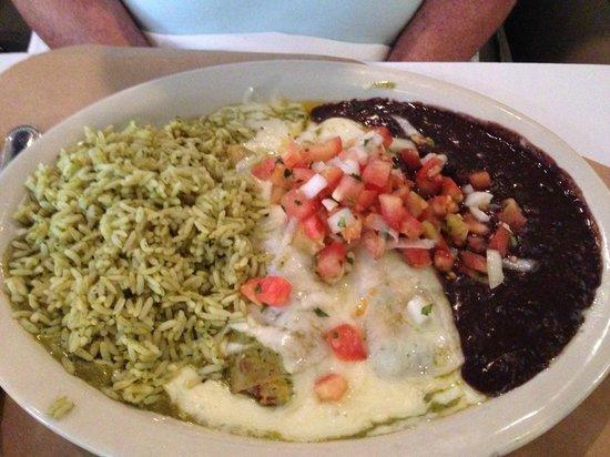 Raven Grill: Seafood Enchilada