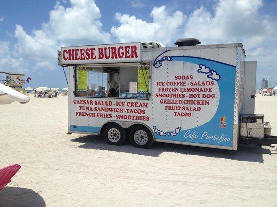 Shore Club South Beach Hotel: Food Truck
