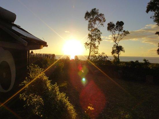Hotel Altiplanico: Pôr do sol
