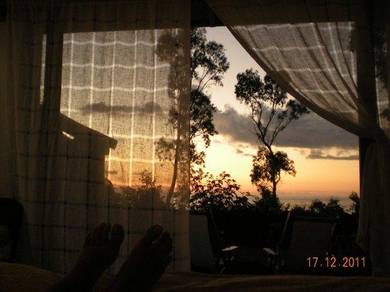 Hotel Altiplanico: Entardecer na ilha de Páscoa