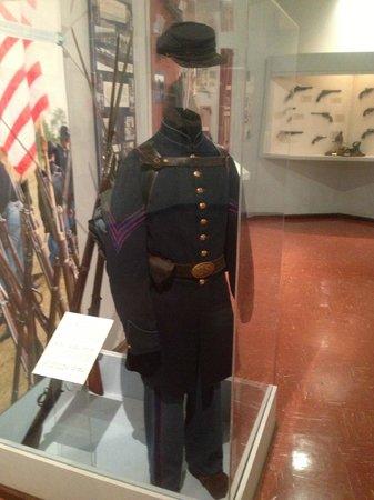 Newport News, VA: Civil War (Union) - Infantry uniform.