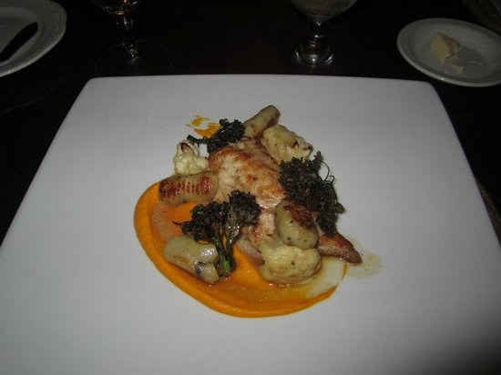 The Brasserie: Fish with Gnocchi