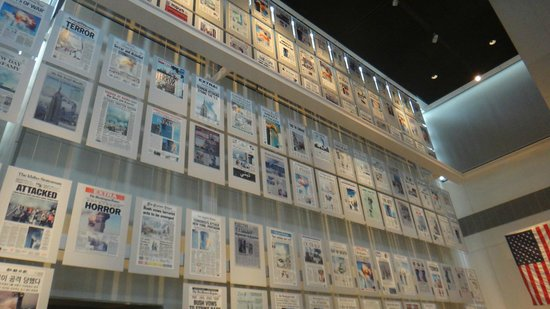Newseum: A wall of 9/11 coverage