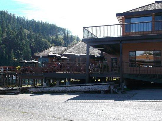 Shingle Mill Restaurant: entrance