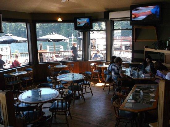 Shingle Mill Restaurant: inside