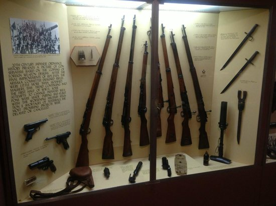 Virginia War Museum: World War II (Japan) - Infantry weapons.