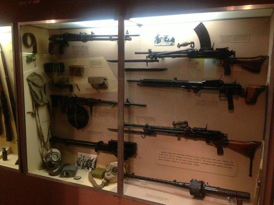 Virginia War Museum: World War II (Japan) - Machineguns.