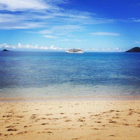 Mantaray Island Resort : Front of jungle bure on the beach