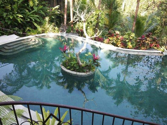 Villa Pranashanti: the pool..