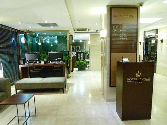 Prince Hotel Seoul: ロビー