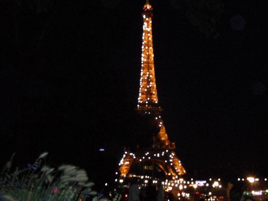 Trocadero: Eiffel Tower Light Show
