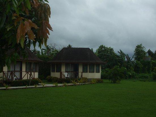 The Savaiian Hotel: one of the fale,s