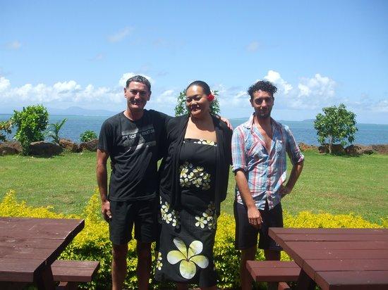 The Savaiian Hotel: us with via