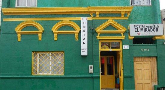 Hostal El Mirador: FACHADA DE LA HOSTAL