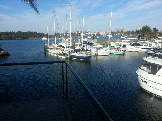 Sails Resort Port Macquarie - by Rydges: View from Sails.