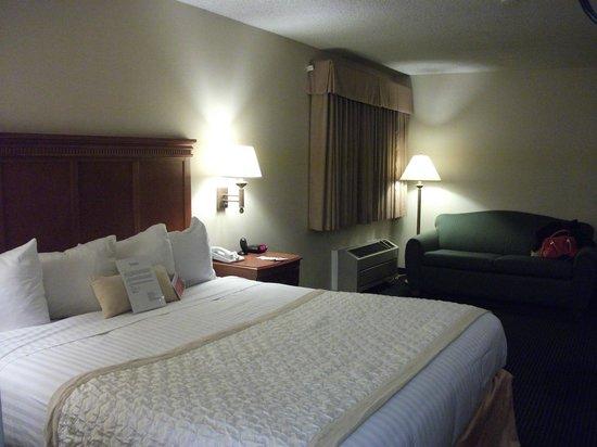 Ramada Flagstaff East: Notre chambre