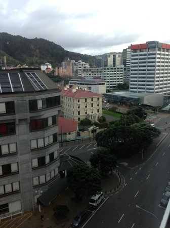 Rydges Wellington : View from room (facing West)