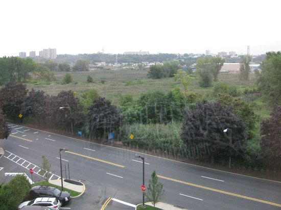 Hyatt Place Secaucus/Meadowlands: View from window (room #617); looking to the right