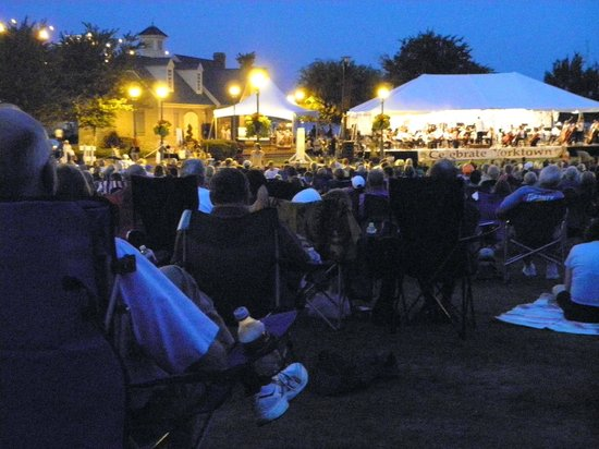 Riverwalk Landing: What a treat to have the Virginia Symphony play a waterfront concert!