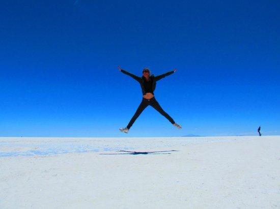 Cristal Samaña Salt Hotel: Linda Uyuni