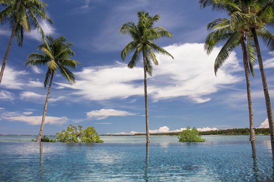 Kalinaw Resort: Infinity pool