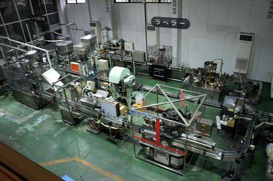Shimane Winery: 工場見学